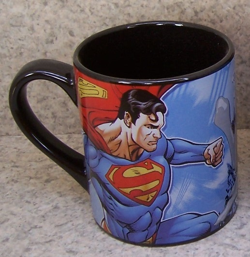 Superman versus Lex Luther entertainment coffee mug thumbnail